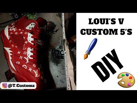 Louis Vuitton Custom Retro 5