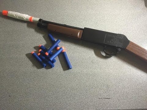 How to turn a BB gun into a Nerf Gun!