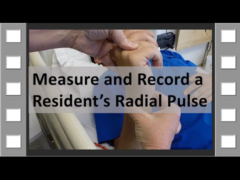 Measure and Record Radial Pulse CNA Skill NEW