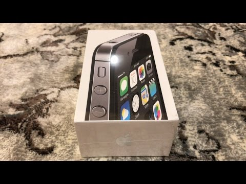 iPhone 4s - Unboxing 2017
