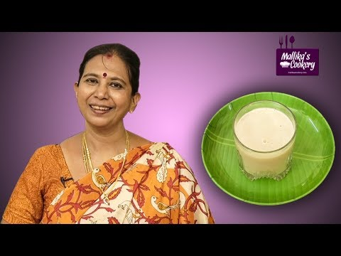Protein Rich Thinai Drink | Mallika Badrinath Recipes | Millets for Weight Loss