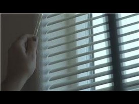 Window Blinds : How to Clean Metal Venetian Blinds