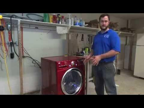 Diagnose LG Front-load Washer - IE Error Code