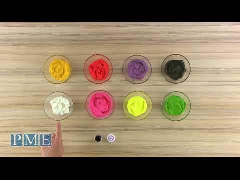 PME 8 Colour Paste Set - PC1008