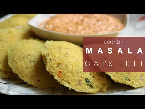 Healthy oats masala idli recipe |Instant south Indian breakfast idly without rice