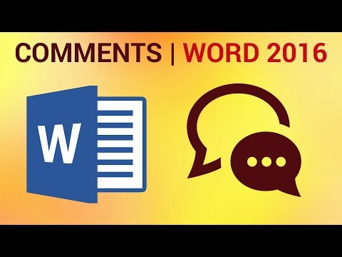 How to Track Changes and Add Comments in Word 2016