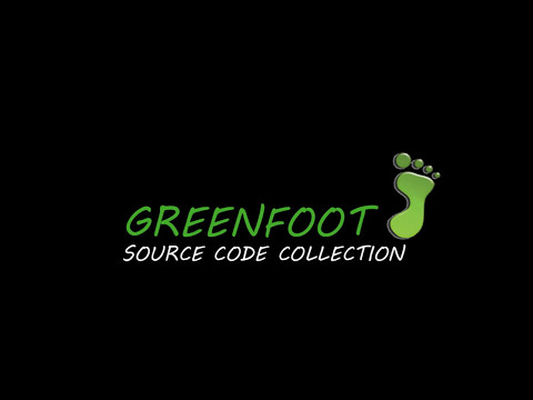Greenfoot Source Code Collections
