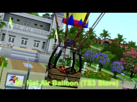 The Sims 3 All Woohoo Spots PART 2 (University Life - Into The Future+Stores!)