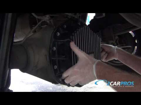 Rear Differential Fluid Service Chevrolet 2500HD 2000-2007