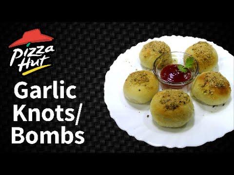 Make Garlic knots/ Garlic cheesy bombs like Pizza Hut at home !!!!