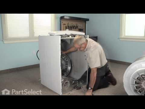 Dryer Repair- Replacing the Rear Drum Bearing Kit (GE Part # WE25M40)