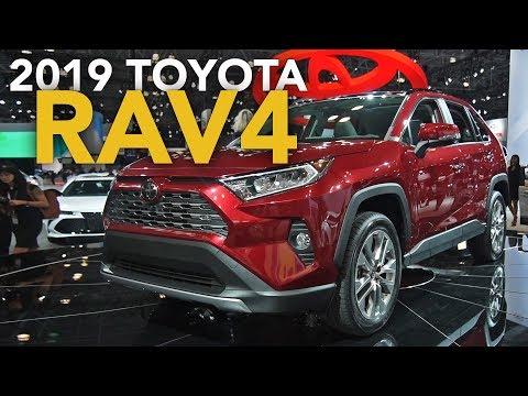 2019 Toyota RAV4 First Look - 2018 New York Auto Show