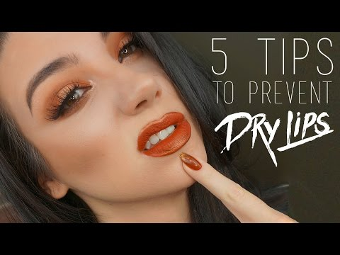 Five Tip To Prevent Dry Lips From Liquid Lipstick | QuinnFace