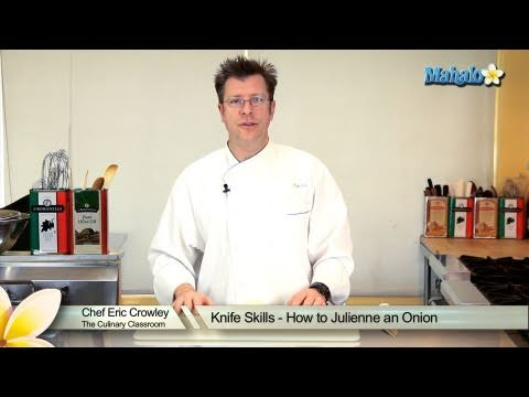 Knife Skills - How to Julienne an Onion