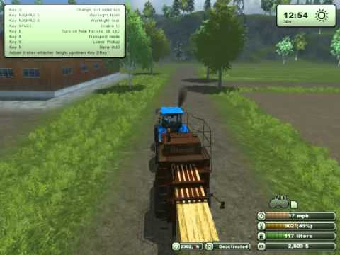 Farming Simulator 2013- hay harvest