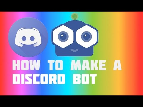 How to make a very simple bot on discord for mac