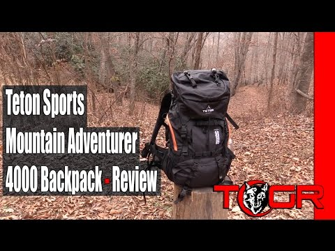 Inexpensive and Functional - Teton Sports Mountain Adventurer 4000 Backpack - Review
