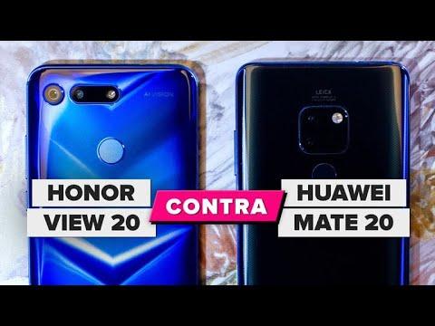 El Huawei Mate 20 vs. Honor View 20: una guerra difícil de predecir