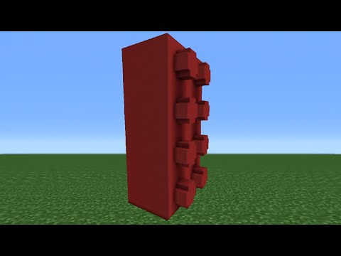 Minecraft Tutorial: How To Make A Lego Brick
