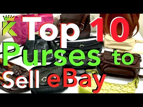TOP 10 PURSES to Sell on eBay from Thrift Shops & Garage Sales to MAKE MONEY Reselling