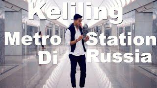 Travel-Vlog Russia #11 Naik eskalator terpanjang di Eropa