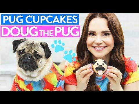 DIY PUG CUPCAKES w/ Doug the Pug!