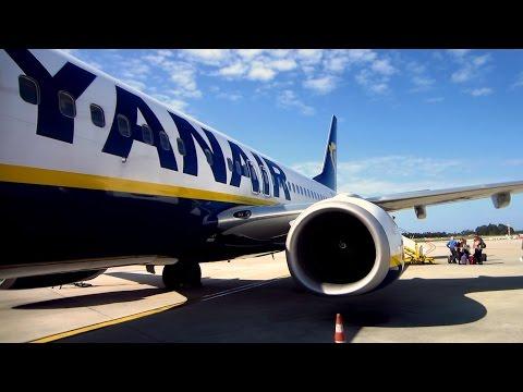 RYANAIR Boeing 737-800 full flight Madrid to Porto + visit to Porto and Portuguese wedding