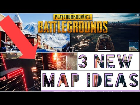 Here are 3 NEW MAP IDEAS For PUBG- Battlegrounds Future