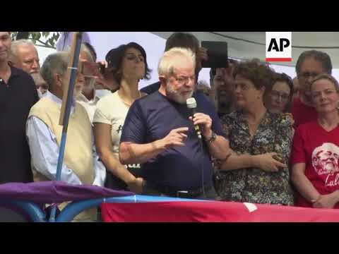 Brazil's Lula to turn himself in to police, claims innocence
