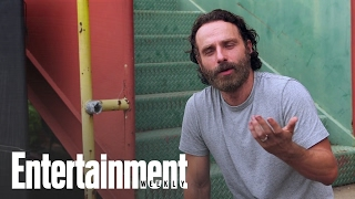 The Walking Dead S Andrew Lincoln Talks About Rick Grimes Beard Enter