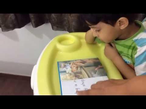 Moksh reads Ladybird Key Words With Peter & Jane 1a: Reading Update _8
