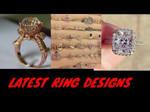 💍💍 LATEST RING DESIGNS || BEAUTIFUL RING DESIGNS 💍💍