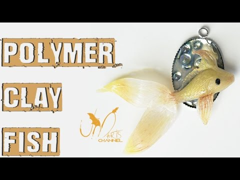 How to do a Japanese Koi Fish with Polymer clay - Tutorial Fimo DIY