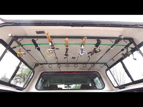 Truck Topper Fishing Rod Rack - Utility Rack - Welding