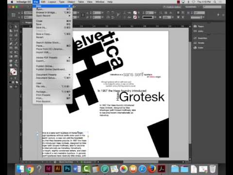 Project 2 - Printing, Packaging and PDFs