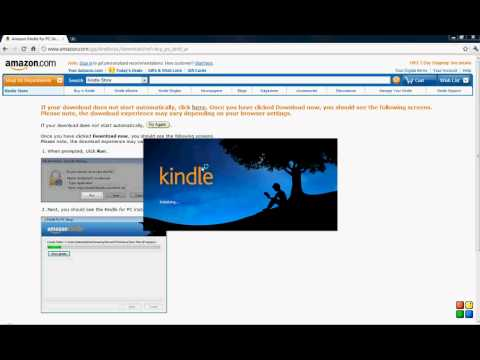How to Install the FREE Kindle app on your PC