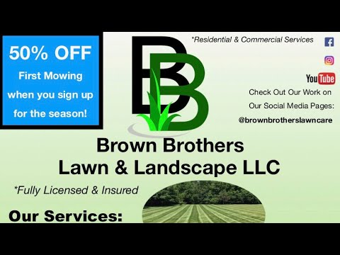 Lawn Care Flyer (The Most Effective Lawn Care Flyer) 2018