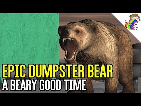 Epic Dumpster Bear | This is Proper Asset Use