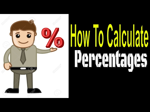 How to Calculate Percentages in Excel 2007 in Telugu
