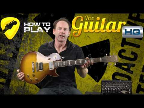 How To Hold A Guitar | Guitar Lesson | Gibson Les Paul