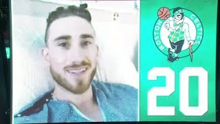 Gordon Hayward sends video message to Boston Celtics fans at home opener   ESPN