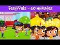 Festivals Of India   Different Types Of Festivals   Kids Festival Compilation Video   Jalebi Street