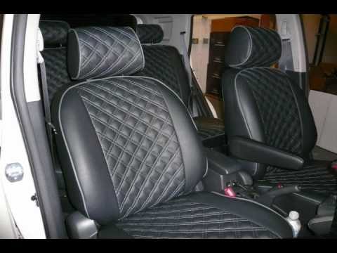 Clazzio Leather Seat Covers - Custom Orders.wmv