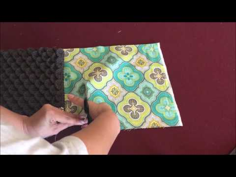How to Add a Zipper and Line a Bag