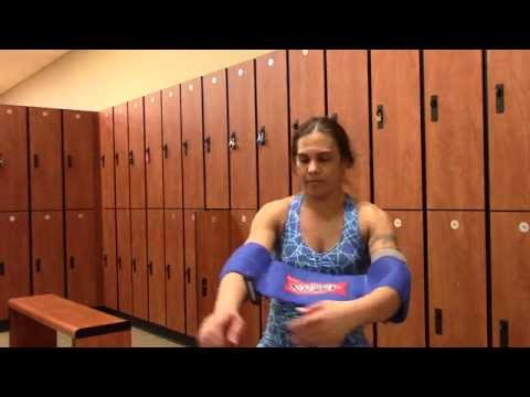 Reactive Slingshot Female Sizing/Review Bench Press 110 x 12 @7.5