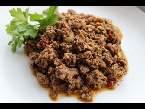 Picadillo (Puerto Rican Ground Beef)