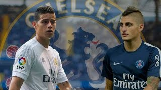 James Rodríguez and Marco Verratti - Big Chelsea FC Targets For January 2017 - HD
