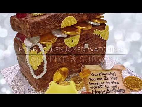 Treasure Box Cake Tutorial
