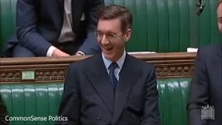 Jacob Rees-Mogg Laughing at Lefties Since Day 1