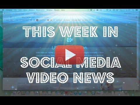 Social Media Video News: Free Social Media Tools for Video